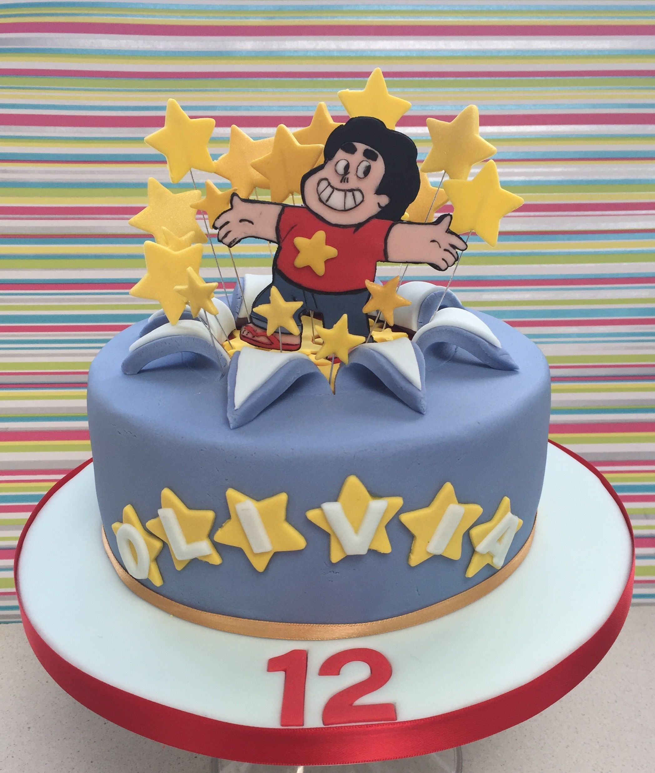 Steven Universe Cake Isabellla Cake Isabella Cake