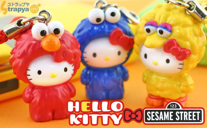 Sanrio meets Sesame Street!!  Where can I get these??!!