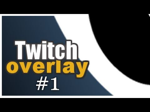 How To Make a Professional Twitch Overlay in Pixlr | Photoshop/Pixlr