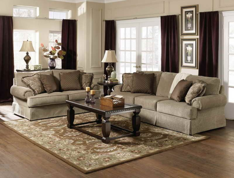 Cozy Look Of A Traditional Living Room Furniture Vissbiz