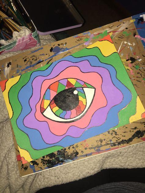 Trippy Art Mandalas 24 Trendy Ideas