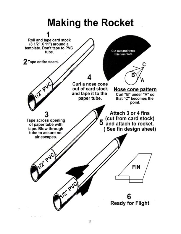 Pony Express District Cub Scouts: Paper Rocket Launcher, Compressed ...