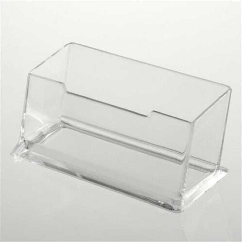 acrylic clear desktop business card holder stand display dispenser ...
