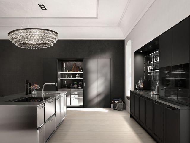 Idée relooking cuisine Cuisine ouverte  16 modèles de cuisiniste - deco maison cuisine ouverte