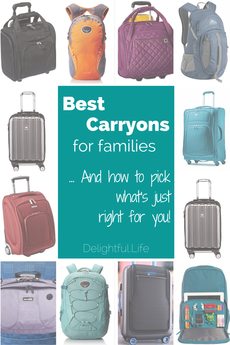 09f463b6121e Looking for the best carry on luggage for your family  We look at  suitcases