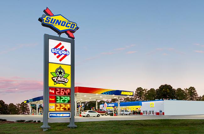 Stripes Gas Station Near Me >> Stripes Sunoco Convenience Store Stripes Convenience