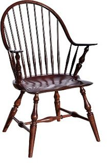 restaurant chairs traditional continuous arm windsor style amish