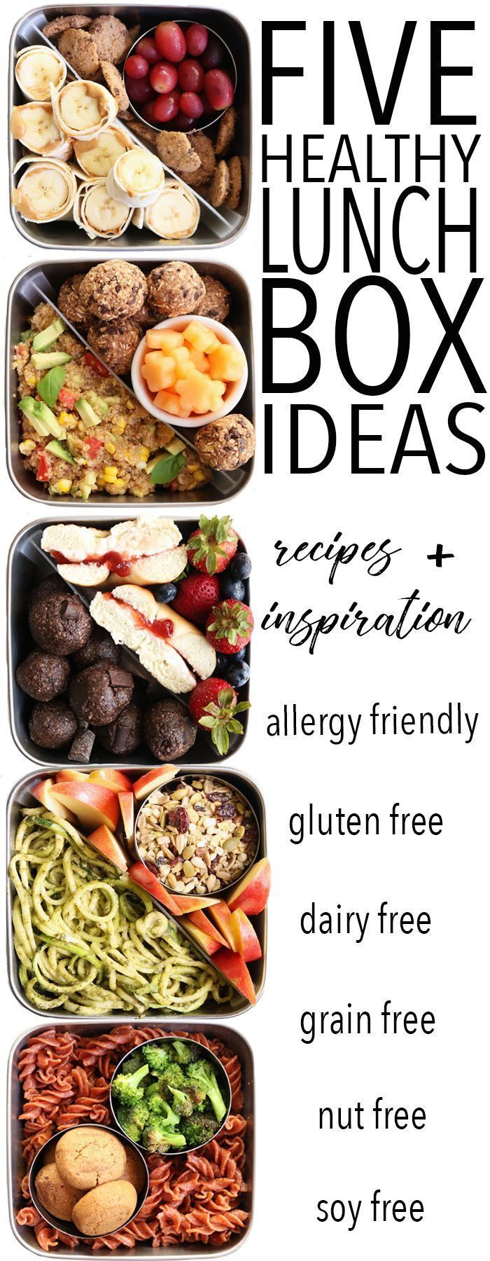 Photo of FIVE Healthy Lunch Box Ideas – The Toasted Pine Nut
