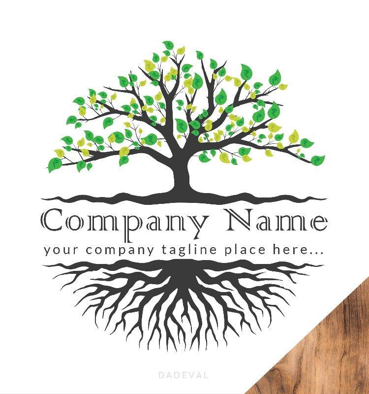 Money Tree Logo Tree Logo Design Tree Logos Tree Illustration