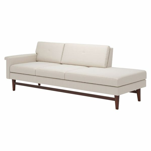 Truemodern Diggity 94 One Arm Sofa With Chaise Reclining