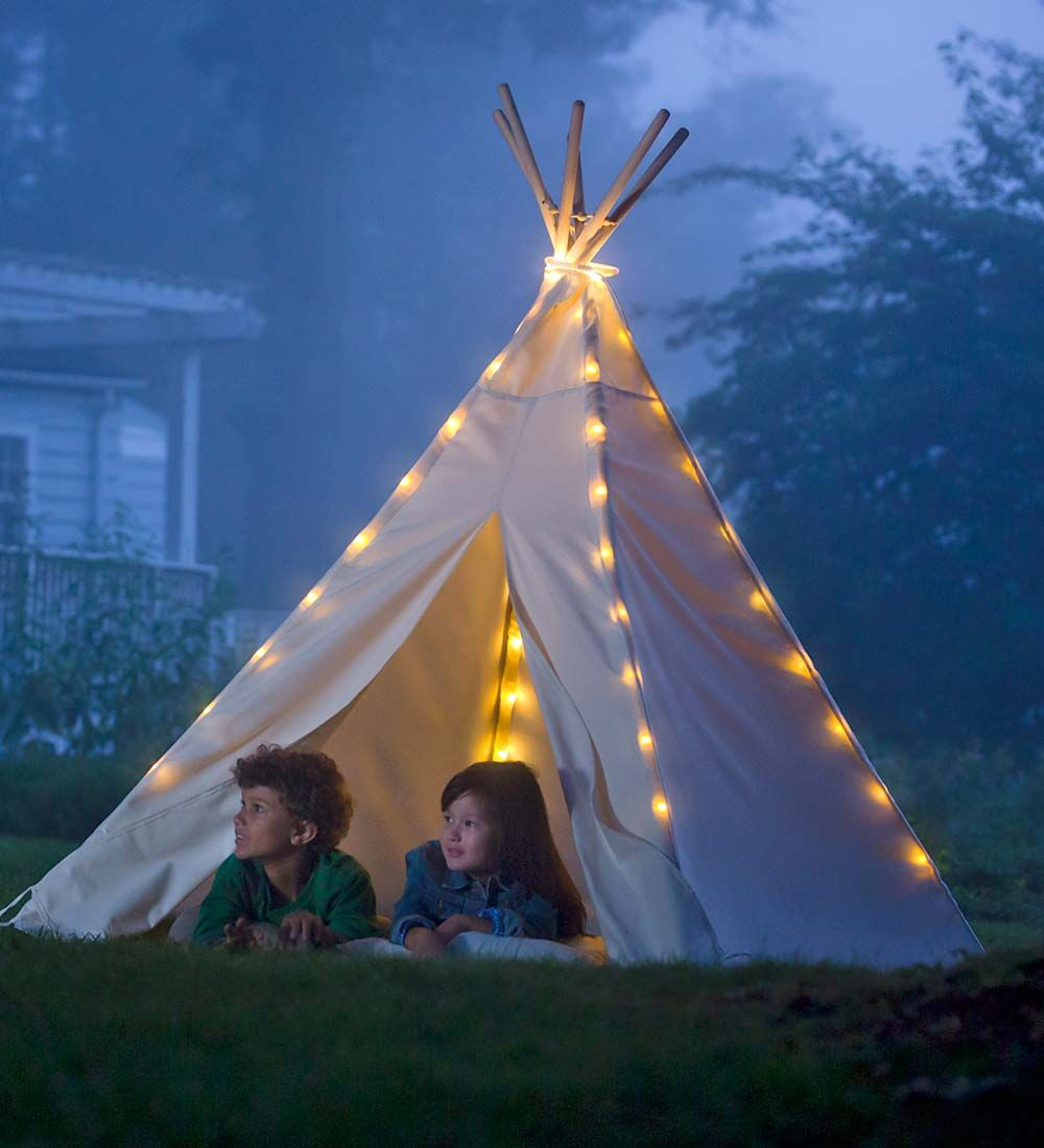 7 Deluxe Teepee Special With Led Lights Magic Cabinverified