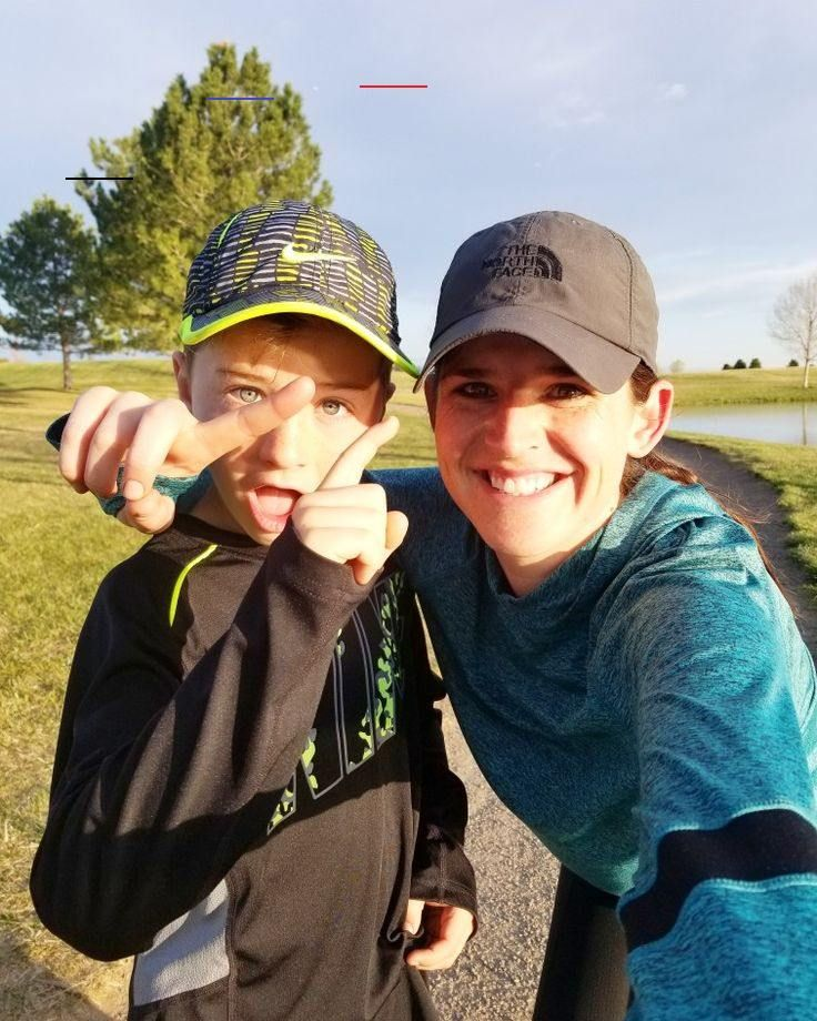 Get your kids out running with you.  Make a goal with them!! 5k here we come. Healthy lifestyle My c...