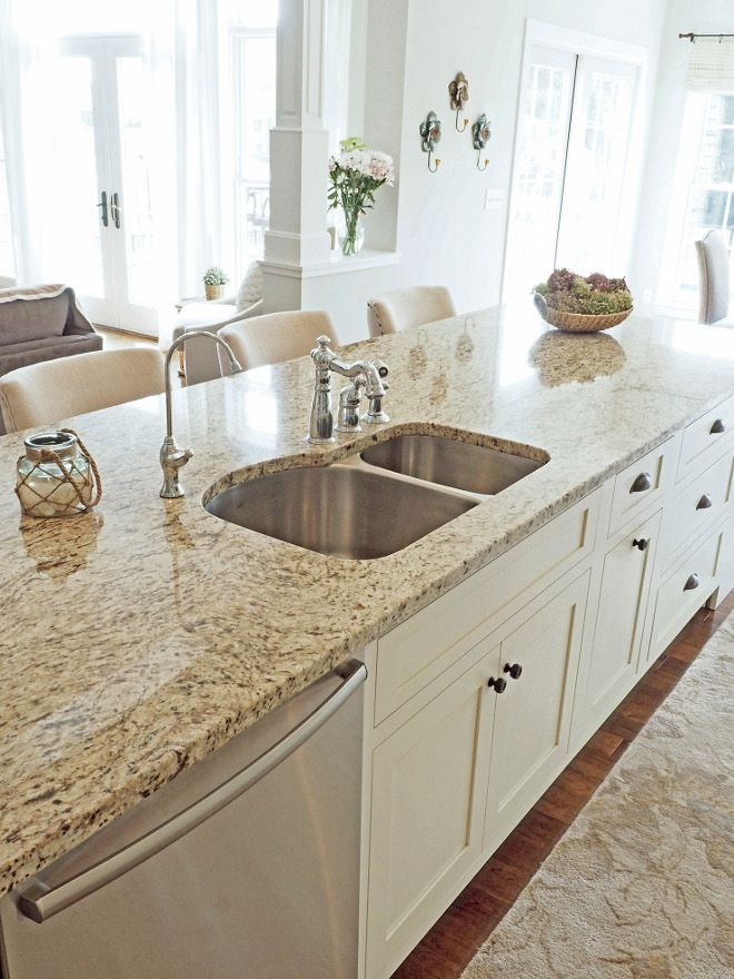 Granite Is Venetian Gold Light I Chose A Bosch Dishwasher And A