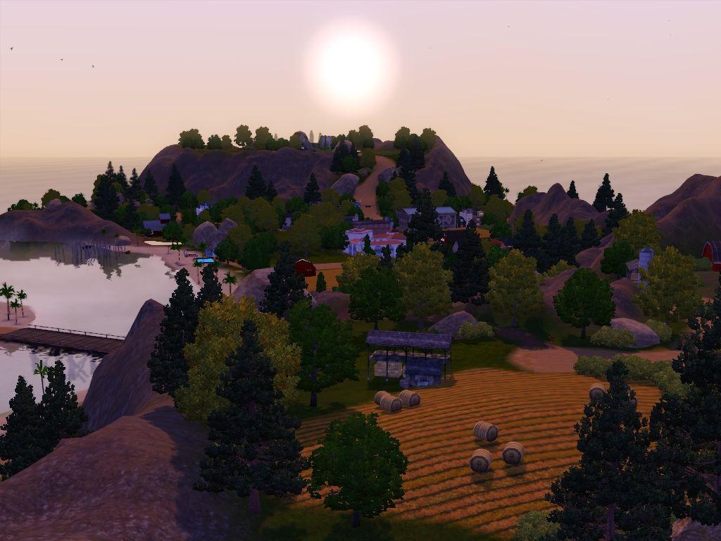 Winchester Farming Community Custom Worlds My Sim Realty Sims 3 Worlds Sims World