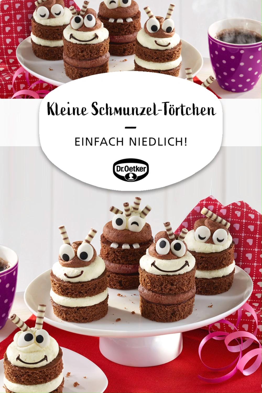 Kleine Schmunzel Tortchen Video Rezept Video Kuchen Und Torten Rezepte Kuchen Und Torten Backen Kindergeburtstag