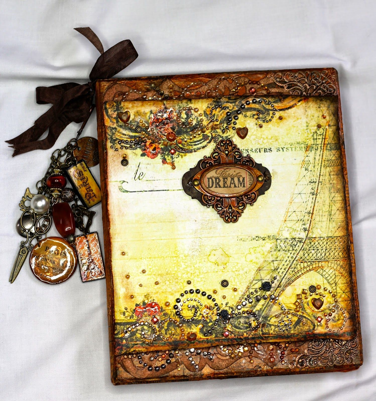 Paris Dream Mini Album/Journal is looking for a new home!!