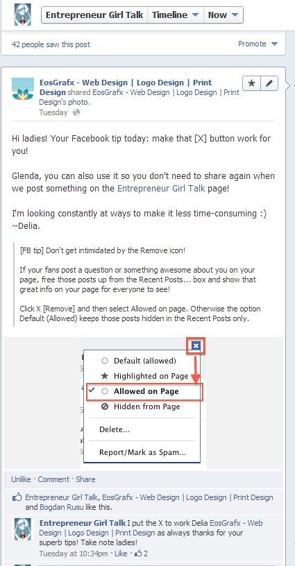 How To Display Excellent Facebook Posts By Your Fans On Your