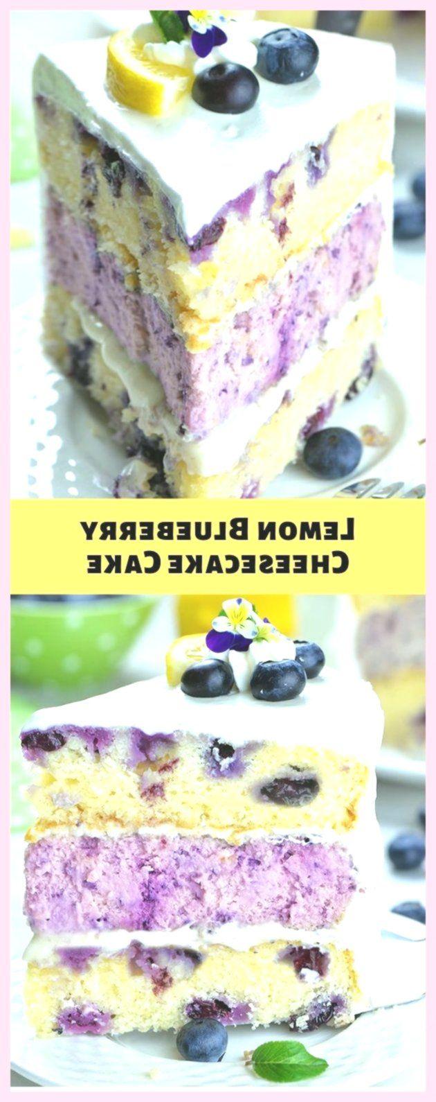 New Easy Cake : Lemon Blueberry Cheesecake Cake #cake #dessert,  #blueberry #cheesecake #dess... #lemonblueberrycheesecake
