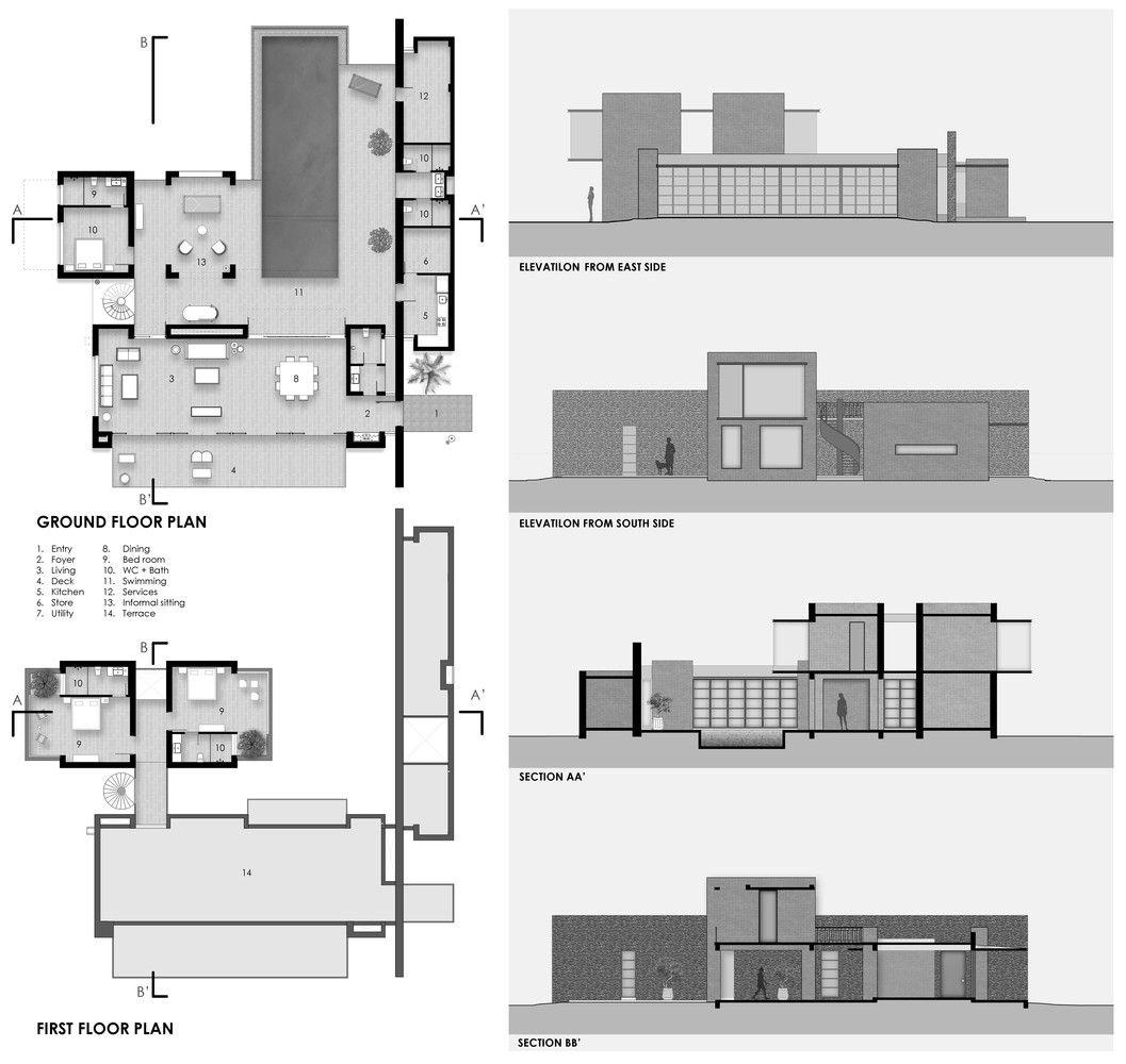 Gallery Of Jetvan House Design Work Group 21 House Design Design Working Architecture House