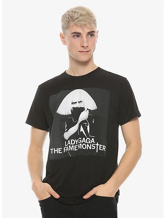 Lady Gaga The Fame Monster T Shirt Black Lady Gaga The Fame Music Tshirts Music Tees