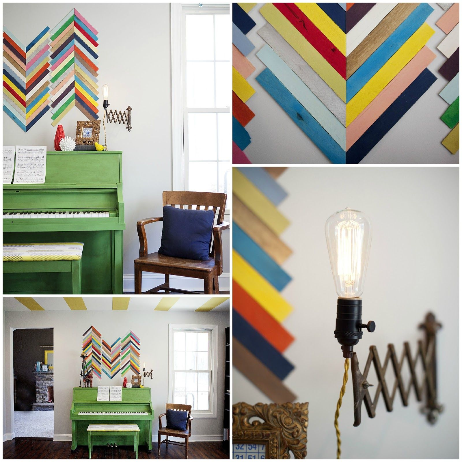 Crafting for charity how to create wood shim wall art painted