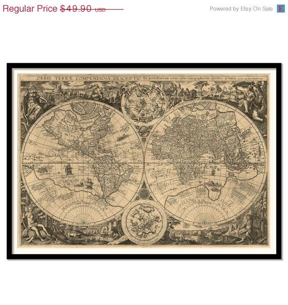 Vintage World Map Black and White to Etch Print Pinterest Easy - new antique world map images