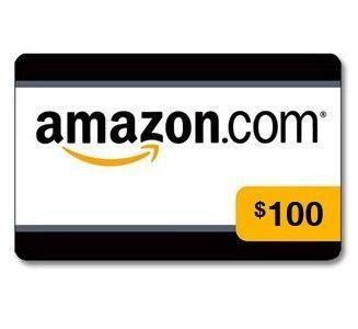 $100 Amazon GC Giveaway (3/25 WW)