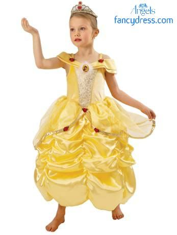 Beautiful Belle fancy dress Costume for Kids http://www.fancydress ...