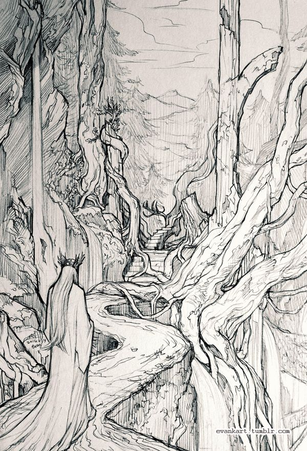 Thranduil by evankart.deviantart | Legolas | Pinterest | Hobbit ...