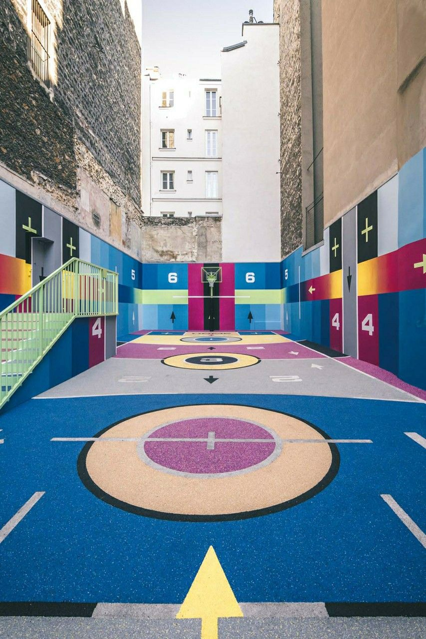 Ashley Furman explorar Desarrollar  Nike X Pigalle Basketball Court 17 Rue Duperré Paris, France 75009 in 2020  | Pigalle basketball, Basketball court, Basketball