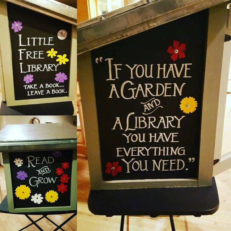 Little Free Library design for North Lake County Public