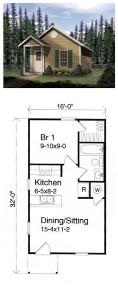 Morningside Gardens One Bedroom Apartment Floor Plan   1 Bed, 1 Bath, 384  Sq.