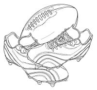 Coloriage Ballon De Rugby.Epingle Par Malia Munson Sur Tattoos To Get Coloriage