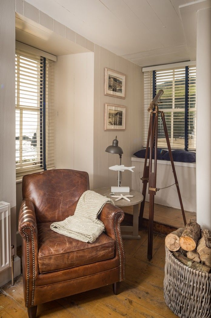 Luxury Beach Cottage Gorran Haven, The Spyglass Beach Cottage #beachcottageideas