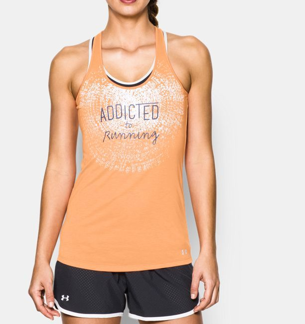 Shop Under Armour for Women's UA Addicted To Running Tank in our Womens Tops department.  Free shipping is available in US.