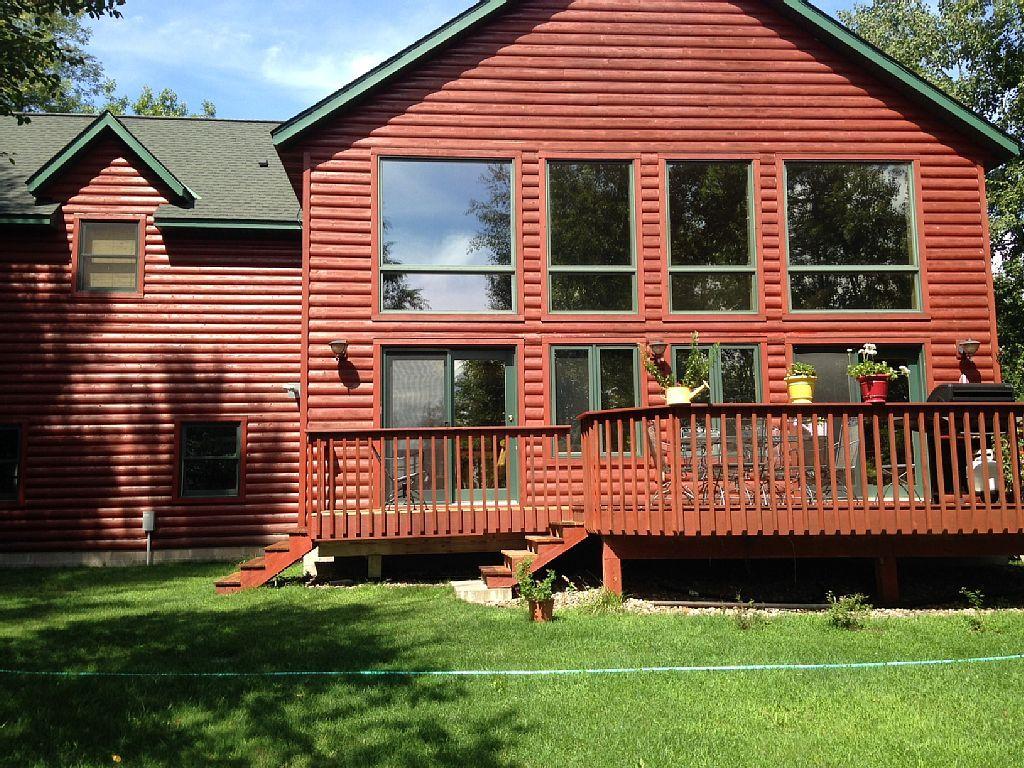 Vrbo Com 661845 Pelican Lake Breezy Point Log Home Vacation Rental Mn Vacation Log Homes