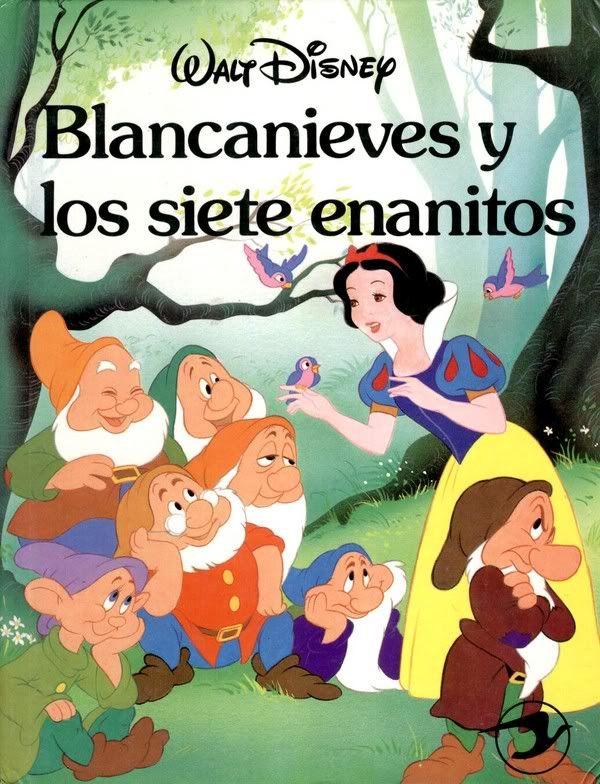 Blancanieves Y Los Siete Enanitos Disney Storybook Seven Dwarfs Disney Books