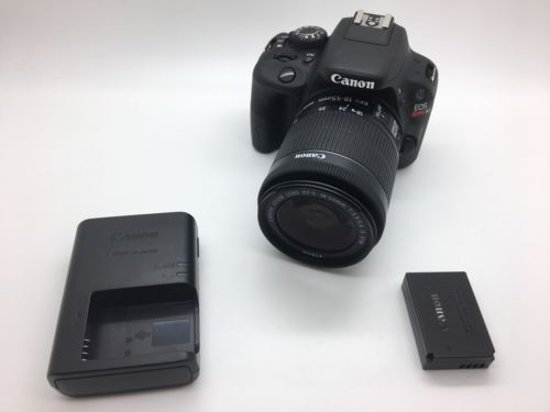 Canon Rebel SL1 DSLR EOS Camera w/ EF-S 18-55mm IS STM https://t.co/c1RXJUJKoG https://t.co/AWvIhZAsIw