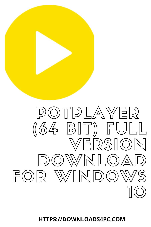 Download Pot Player : download, player, PotPlayer, Version, Download, Windows, Version,, Download,