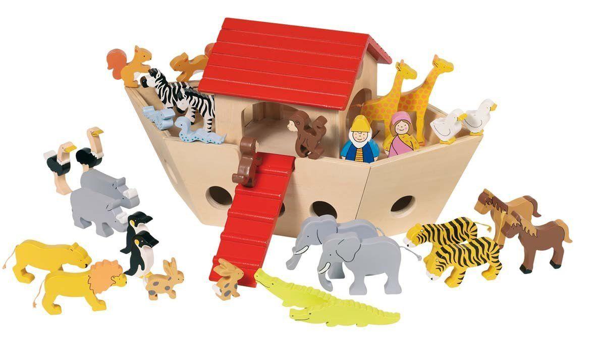 amazon: goki noah's ark toy figure: toys & games
