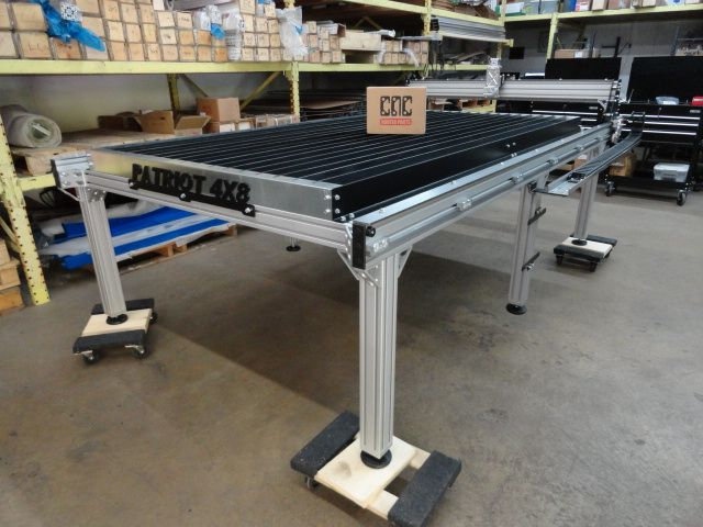 DIY Build A High Quality X CNC Plasma Table For Just Over - 4x8 steel table