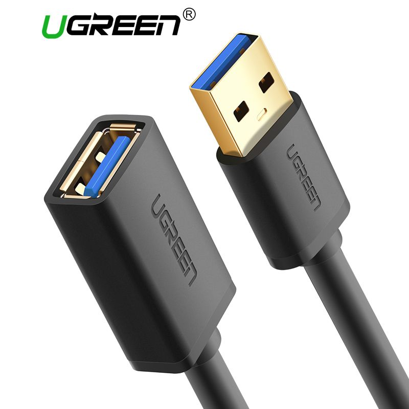 20 Off Ugreen Super High Speed M F Male To Female Usb 3 0 Extension Extender Cable Data Sync Charging Transfer Charger Cabo 0 5m 1 Extension Cable Usb Cable