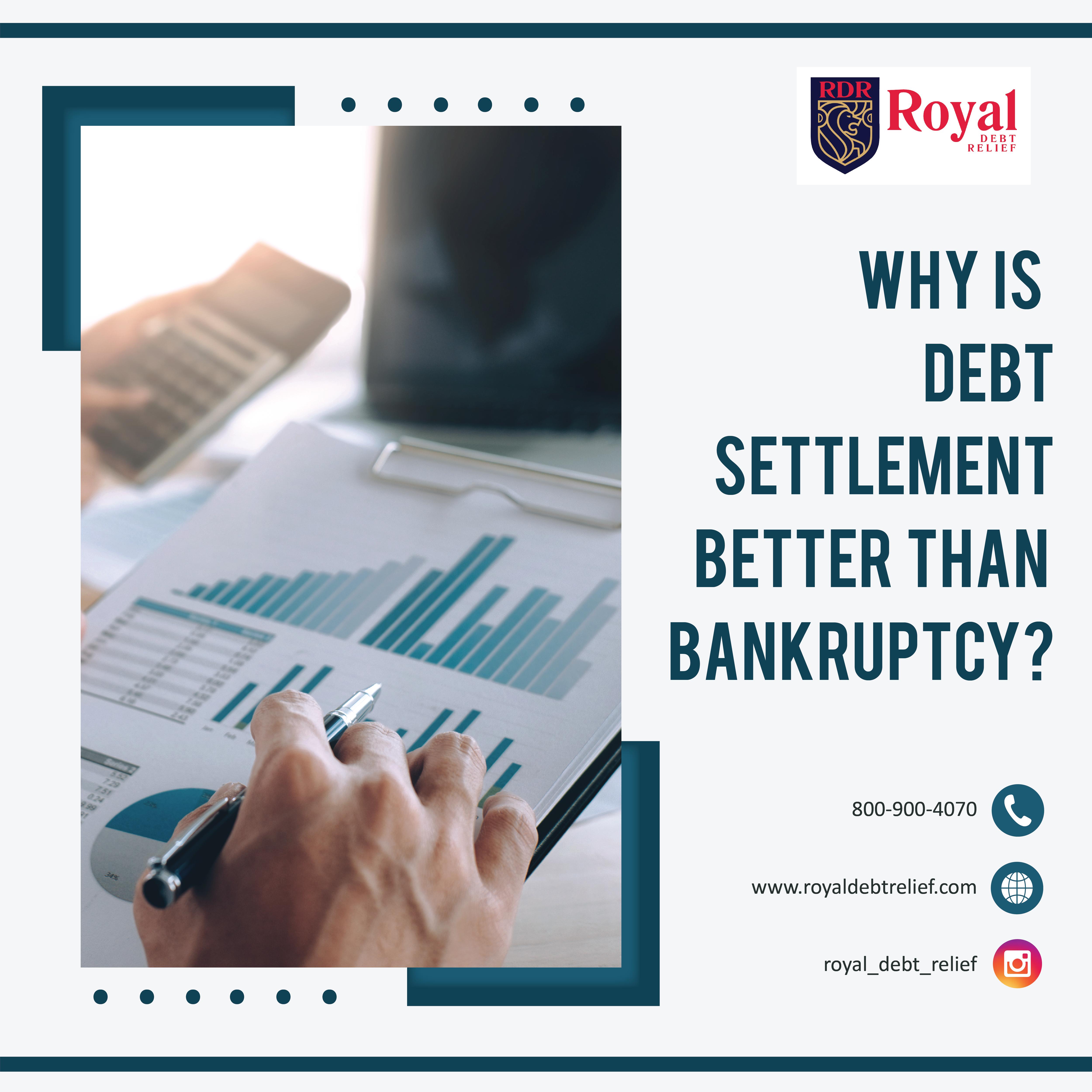 Debt Settlement Vs Bankruptcy In 2020 Debt Settlement Personal Debt Financial Counseling
