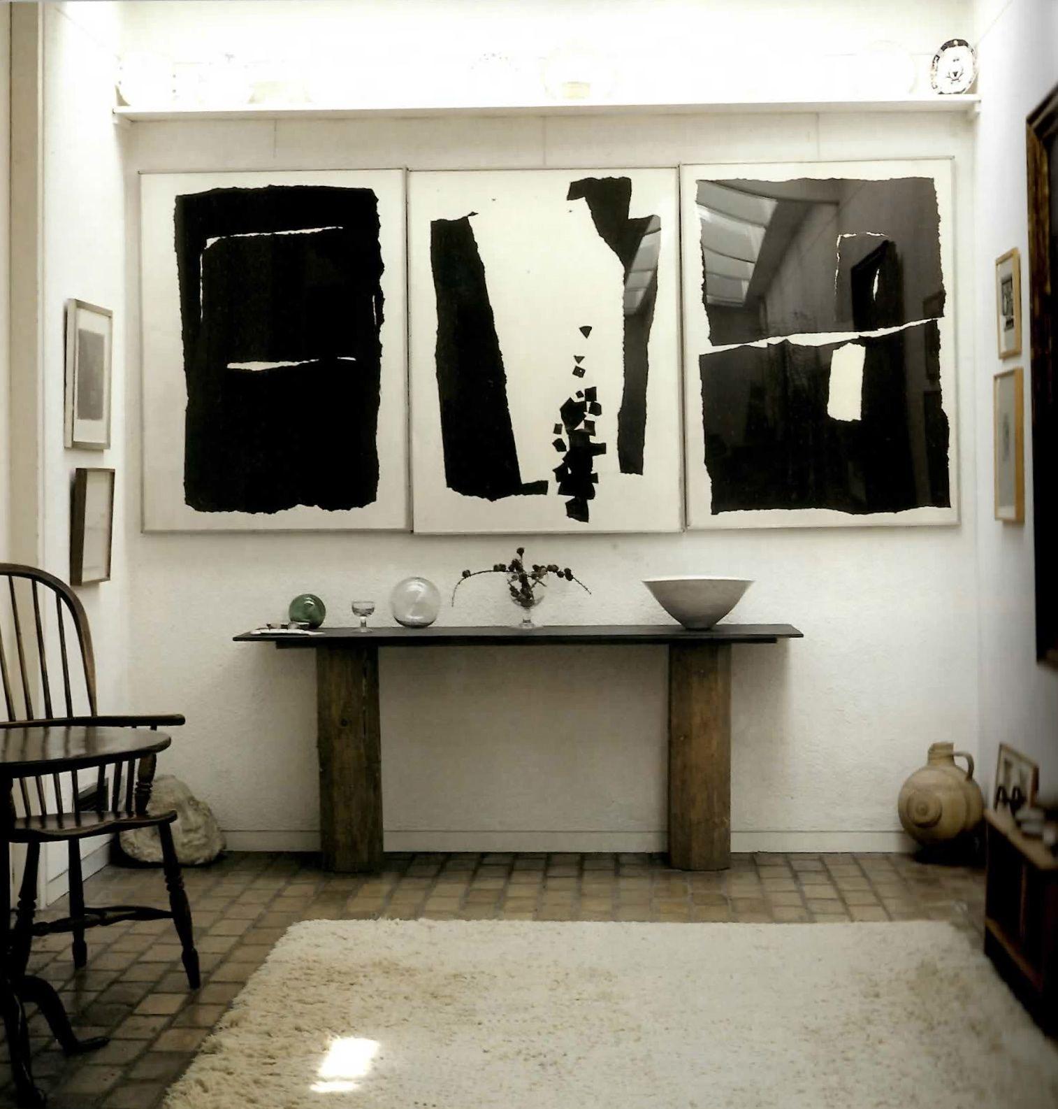 Kettleus yard cambridge prints hall table and windsor chair art