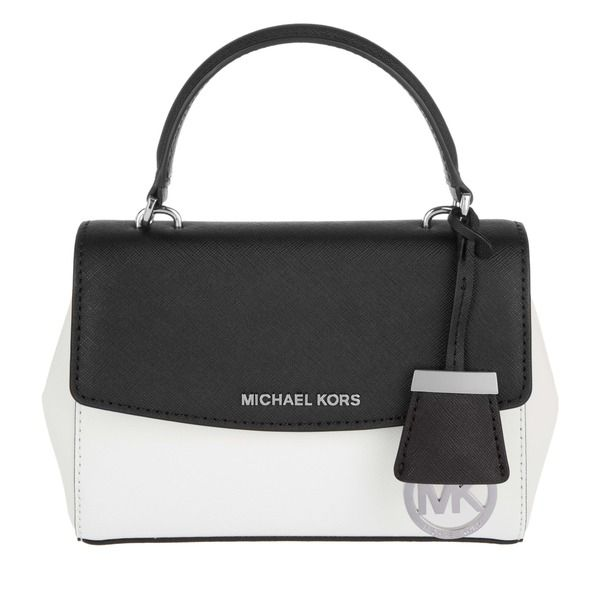 Michael Kors Tasche Ava Xs Crossbody White Black In Weiaÿ Schwarz Umha Ngetasche Fa R Damen Michael Kors Tasche Taschen Und Michael Kors