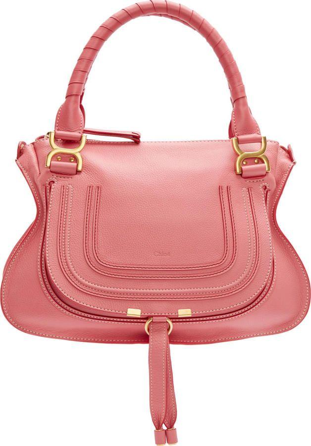 Chloé Magnolia Pink Medium Marcie Bag · BolsasMujerZapatosModa ... d12dfb01851