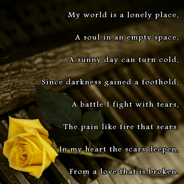 A broken heart is always a lonely place to be. | Love ...