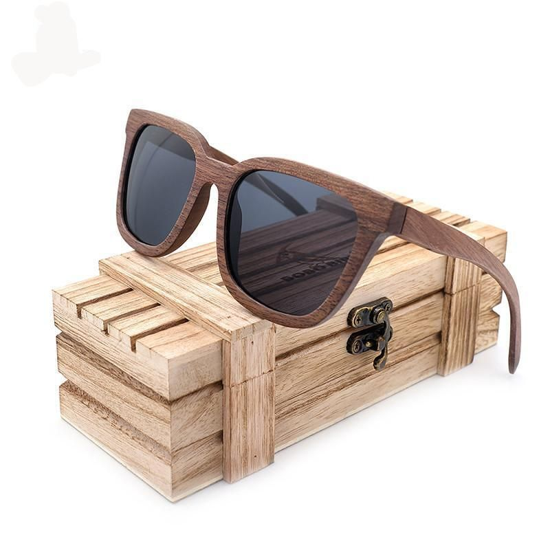 07d8922087f Black Walnut Wooden Sunglasses. Eyewear ...