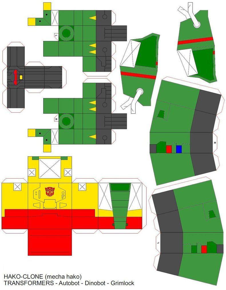 hakogrimlock g2 green by DoctorJeepdeviantart on