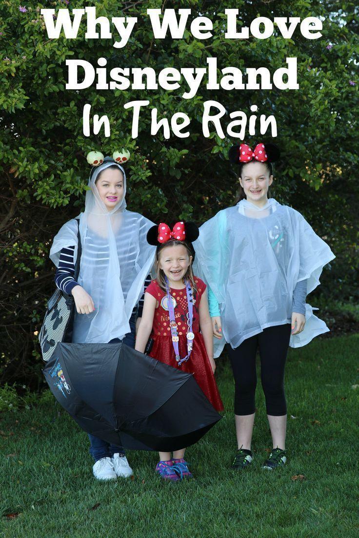 what if it rains at disneyland